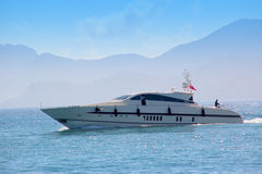 Luxury yacht Royalty Free Stock Image