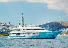 Luxury Yacht royalty free stock photo