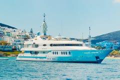 Luxury Yacht Stock Image