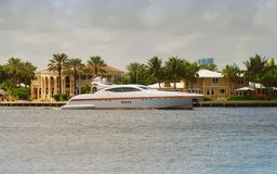 Luxury yacht stock photography