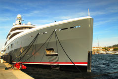 Luxury yacht Stock Images
