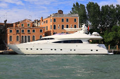 A luxury yacht Stock Images