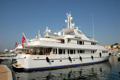 Luxury yacht Stock Photography