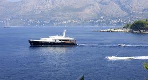 Luxury yacht in the Adriatic sea Stock Photo