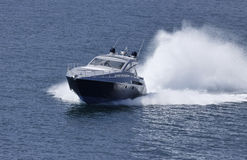 luxury yacht Alfamarine 60' Royalty Free Stock Image