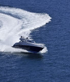 Luxury yacht Alfamarine 60' Stock Photos