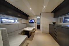 Luxury yacht Alfamarine 60' Royalty Free Stock Photography