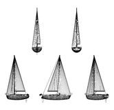 Luxury yacht Stock Photos