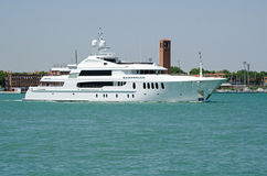 Luxury Yacht Bacarella, Venice Royalty Free Stock Photo