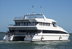 Luxury Yacht Royalty Free Stock Photography