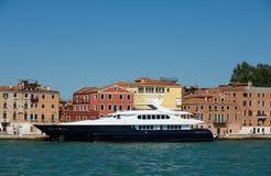 Luxury yacht in Europe stock photos