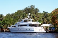 Luxury yacht in Florida Stock Photos