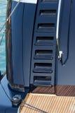 Luxury Yacht in the Harbor - Portovenere Stock Photography