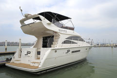 Luxury yacht jp ( jiepeng ) Stock Images