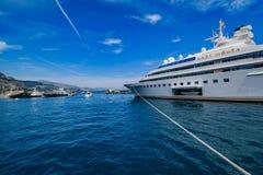 Luxury Yacht Lady Moura Royalty Free Stock Photos