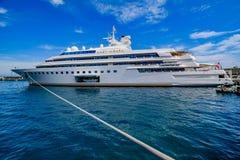 Luxury Yacht Lady Moura Stock Image