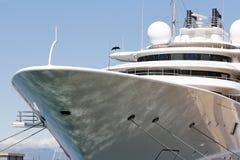 Luxury yacht Stock Images
