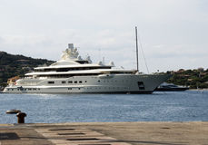 Luxury yacht a Porto Cervo Royalty Free Stock Photography