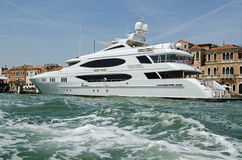 Luxury Yacht Reef Chief, Venice Stock Image