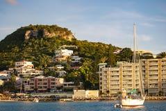 Luxury Yacht in St. Maarten Royalty Free Stock Photo