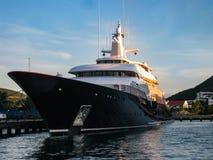 Luxury Yacht in St. Maarten Royalty Free Stock Image