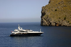 Luxury yacht trip Stock Images