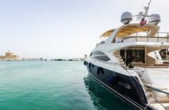 Luxury yacht in tropics Royalty Free Stock Photos