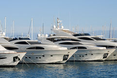 Luxury Yachts Stock Photos