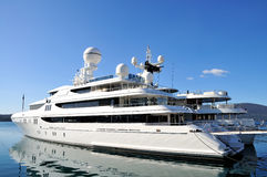 Luxury yachts Royalty Free Stock Images