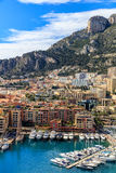 Luxury yachts in the bay of Monaco Royalty Free Stock Photos