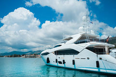 Luxury yachts in beautiful. Royalty Free Stock Photo