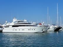 Luxury yatches Stock Photo