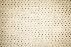 Luxury yellow leather texture for background Royalty Free Stock Photography