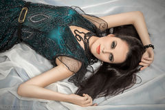 Luxury young woman Stock Photography