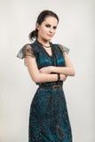 Luxury young woman Stock Photo
