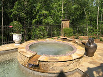 Luxus 1 - Pool 1 Lizenzfreies Stockbild