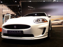 Luxus-Auto des Jaguar-XKR Stockfotografie