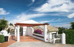Luxus, der in Spanien wohnt Lizenzfreie Stockfotografie