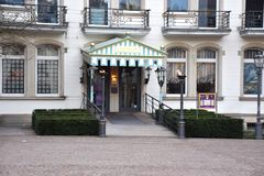 Luxus Hotel in Baden-Baden. Luxury, hotel Medici, a wel known resort in Germany, Baden württemberg, city, Baden Baden, sightseeing, architecture, beautiful Royalty Free Stock Image