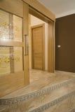 Luxus konzipierte Tür Stockfoto