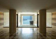 Luxus- Marmor-entrace lizenzfreie stockfotografie