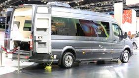 Luxus-Mercedes Benz-Wohnmobilauto Lizenzfreies Stockbild