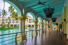 Luxus-Resort in der Dominikanischen Republik Stockfotografie