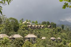 Luxus-Resort Ella Sri Lanka Lizenzfreie Stockfotos