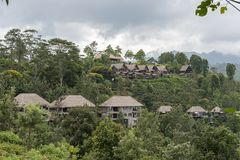 Luxus-Resort Sri Lanka Lizenzfreies Stockbild