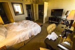 Luxus Suite rooms in Las Vegas. Luxus Suite rooms in famous hotel in Las Vegas Stock Image