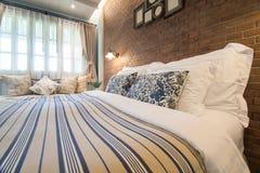 Luxus und sehr sauberer leerer europäischer Raum Lizenzfreies Stockbild