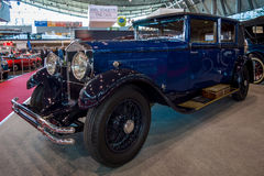 Luxusart 2900 Saloon, 1929 auto Rochet-Schneiders 20HP Lizenzfreies Stockbild