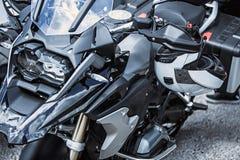 Luxusartikelnahaufnahme des Motorrades: Motorradteile Lizenzfreies Stockbild
