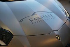 Luxusauto Karaveli stockbilder